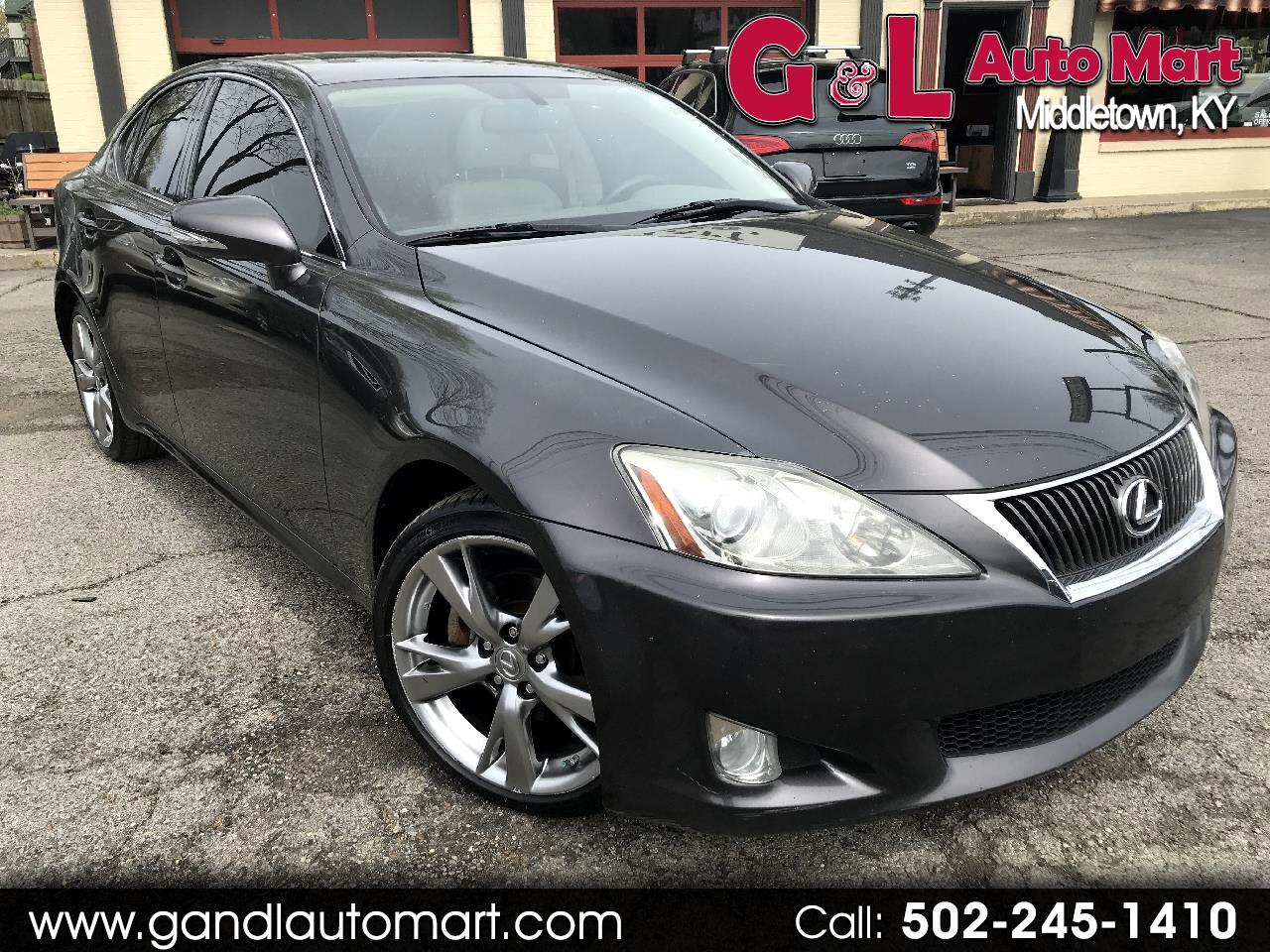 2010 Lexus IS 250 4dr Sport Sdn AWD