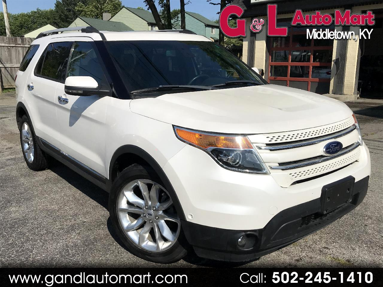 2013 Ford Explorer 4WD 4dr Limited