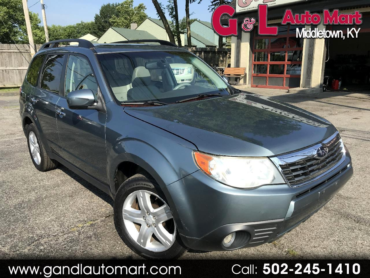 2009 Subaru Forester (Natl) 4dr Auto X Limited