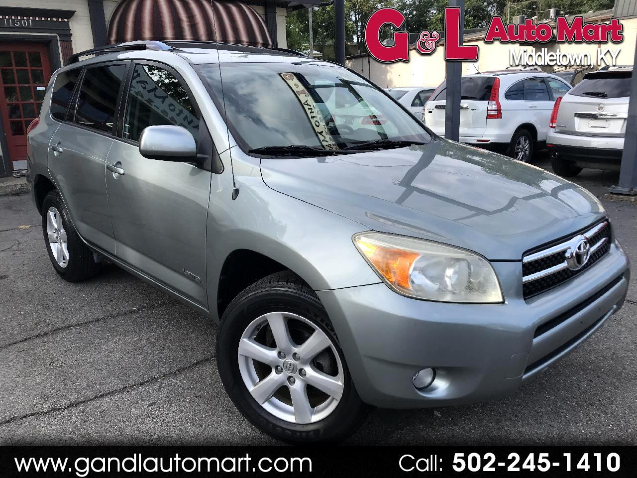 2006 Toyota RAV4 4dr Limited 4-cyl (Natl)