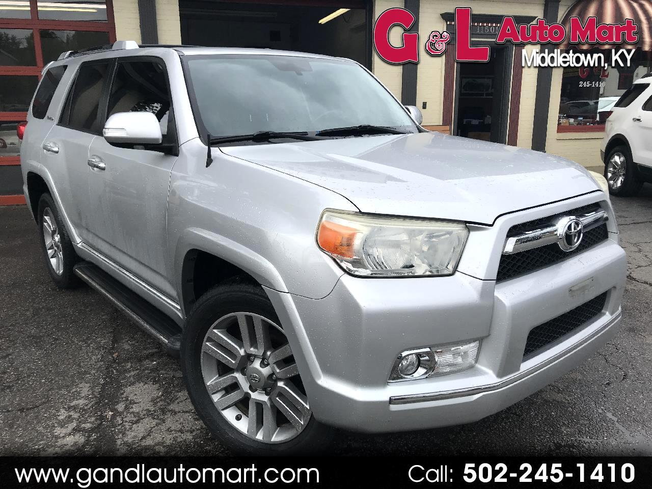 2010 Toyota 4Runner 4WD 4dr V6 Limited (Natl)
