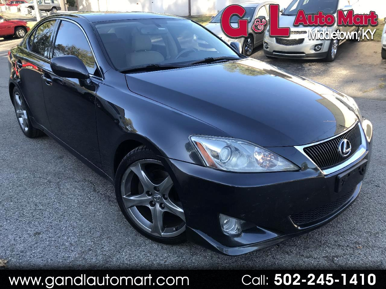 2007 Lexus IS 250 4dr Sport Sdn Auto RWD