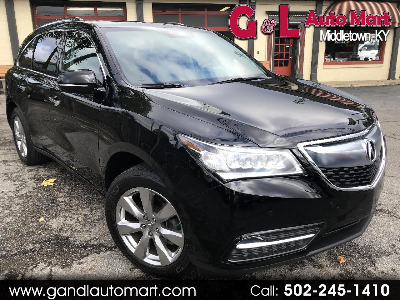 2014 Acura MDX SH-AWD 4dr Advance/Entertainment Pkg