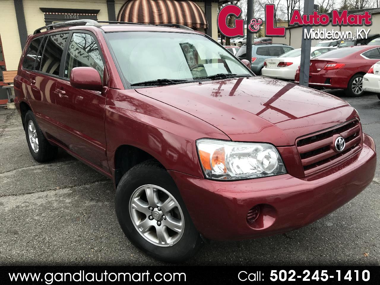 2007 Toyota Highlander 4WD 4dr V6 Limited w/3rd Row (Natl)