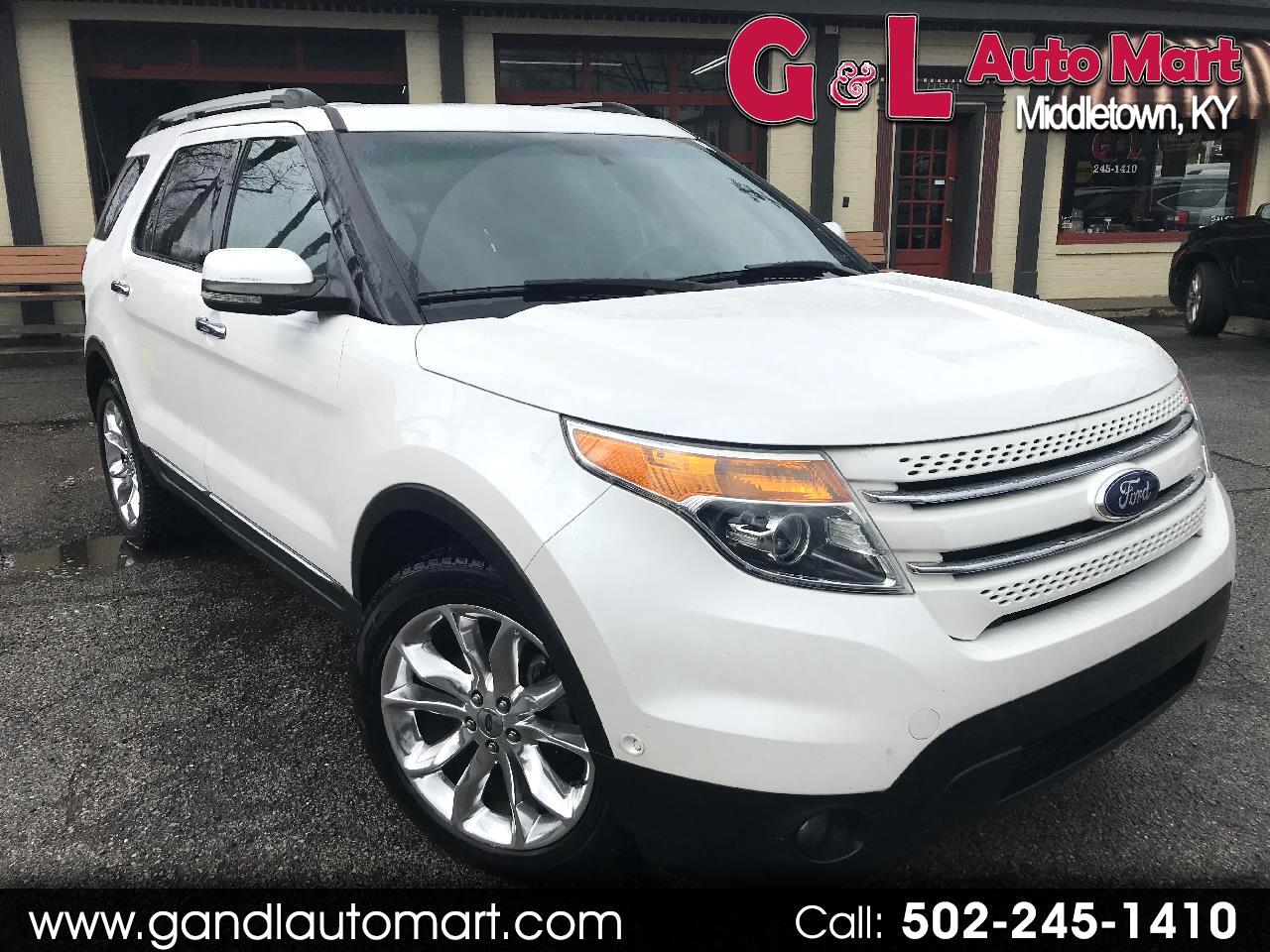 Ford Explorer 4WD 4dr Limited 2011