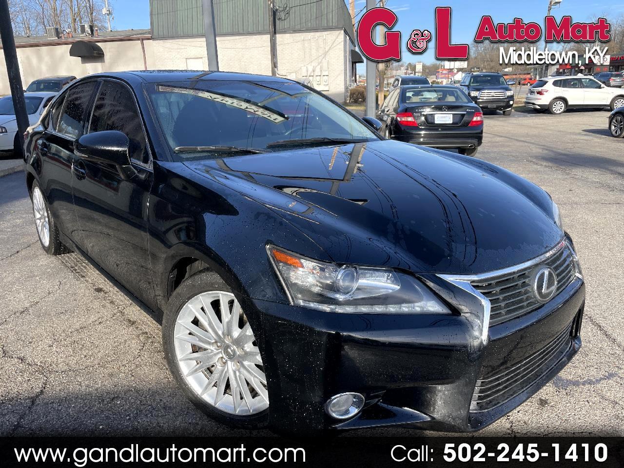 Lexus GS 350 4dr Sdn RWD 2014