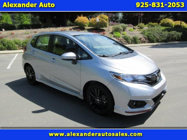 2018 Honda Fit Sport 6-Spd MT