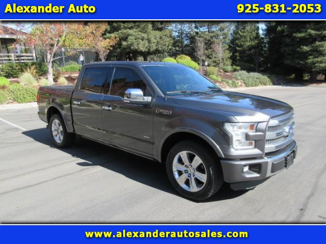 2015 Ford F-150 Platinum SuperCrew 5.5-ft. Bed 2WD