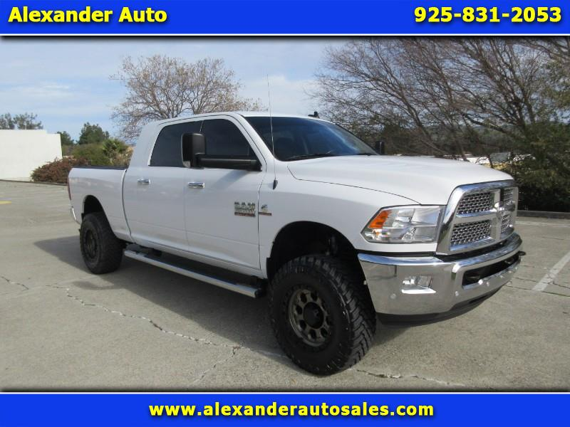 2016 RAM 2500 SLT Big Horn Package Mega Cab