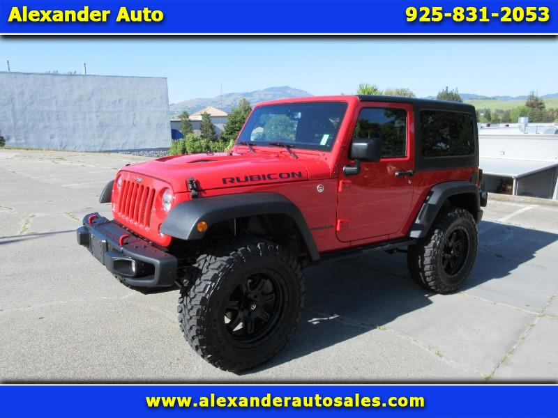 2016 Jeep Wrangler Rubicon 4WD Hard Rock