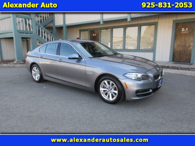 2014 BMW 5-Series 528i Driver Assistance Pkg