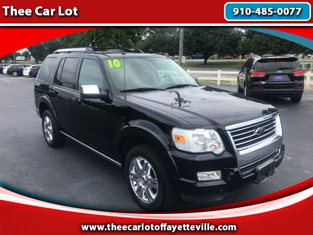 2010 Ford Explorer Limited Sport Utility 4D