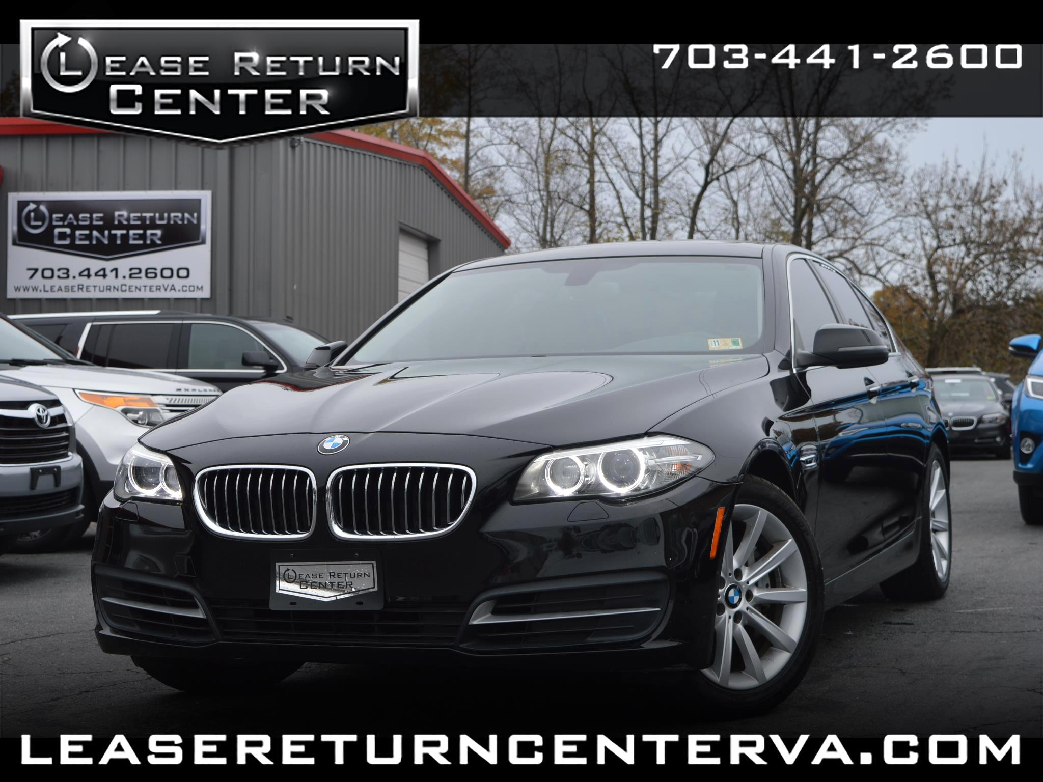 2014 BMW 5-Series 535i With Navigation