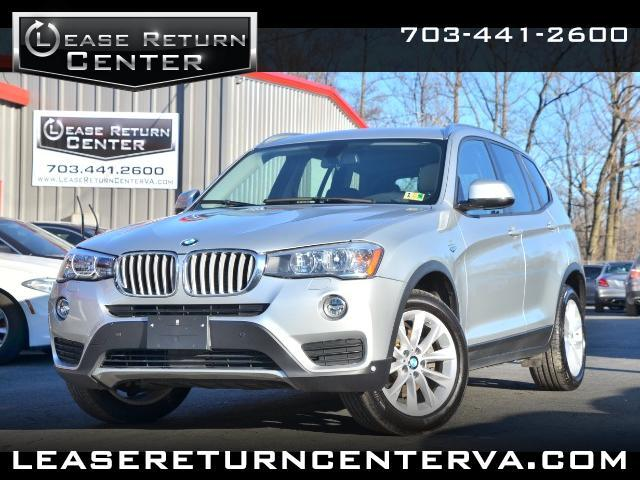 2015 BMW X3 xDrive28i NAVIGATION SYSTEM WITH PANORAMIC ROOF