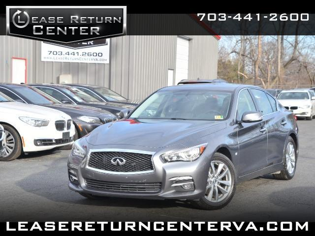 2014 Infiniti Q50 Premium AWD With Navigation System