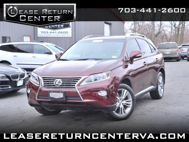 2015 Lexus RX 350 Premium Package With Navigation System