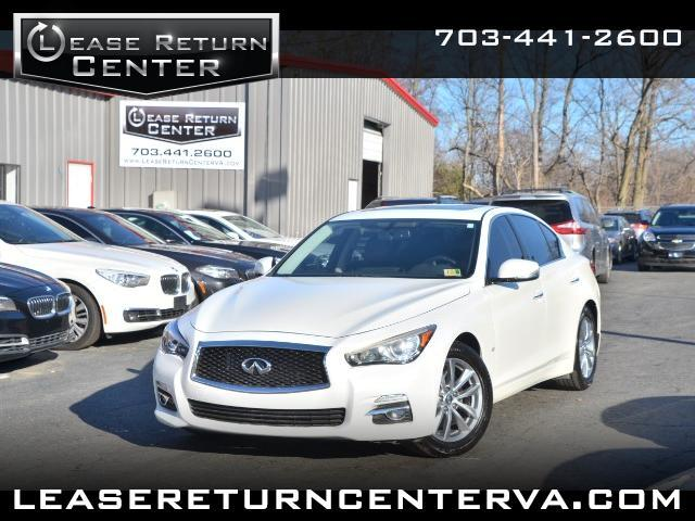 2014 Infiniti Q50 Premium Sport with Navigation System