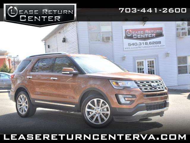 2017 Ford Explorer LIMITED WITH NAVIGATION