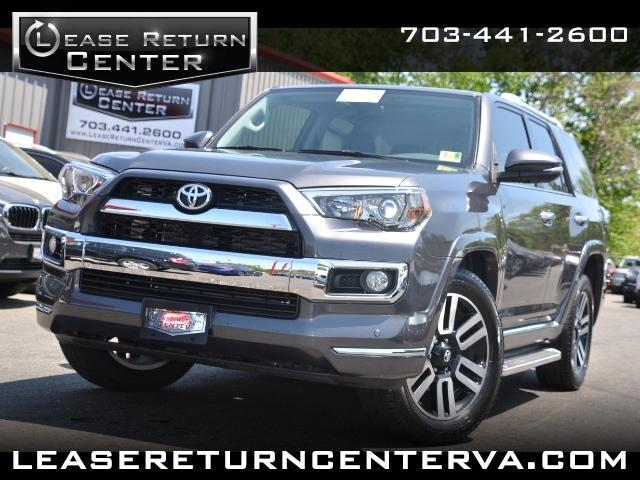 2014 Toyota 4Runner Limited With Navigation System