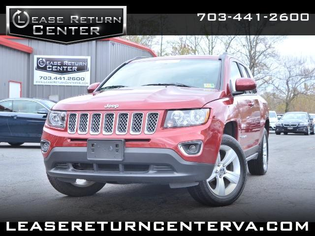 2015 Jeep Compass 4WD Altitude Edition Leather With Navigation Syste