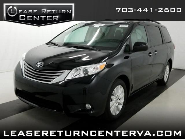 2016 Toyota Sienna XLE With DVD Entertainment System