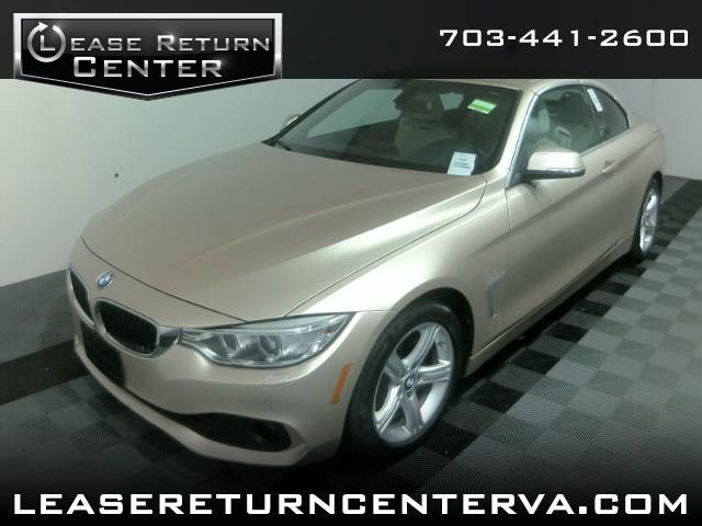 2015 BMW 4 Series Convertible TECH PKG WITH NAVIGATION SYSTEM