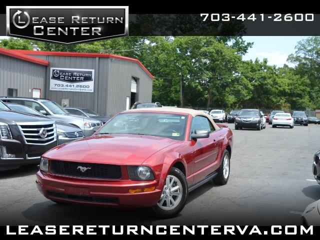 2007 Ford Mustang 2dr Conv Premium