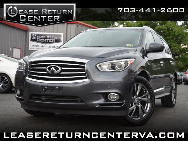 2014 Infiniti QX60 Premium Package With Navigation System