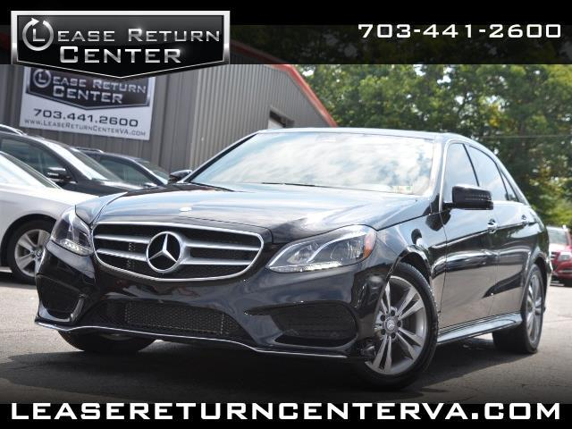 2016 Mercedes-Benz E-Class 350 Sport Package with Navigation