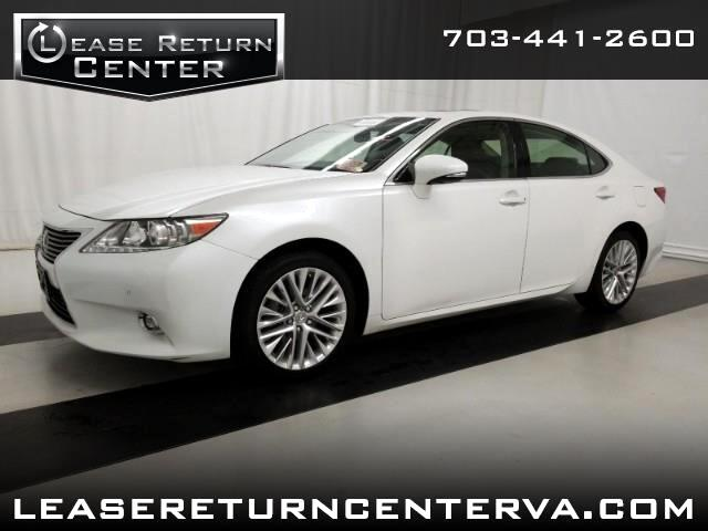 2015 Lexus ES 350 Luxury Package With Navigation System