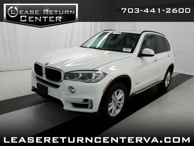 2015 BMW X5 xDrive35i with 3rd row seat and Dual Screen TV