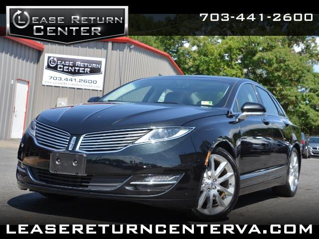 2015 Lincoln MKZ Hybrid with Navigation and Sunroof