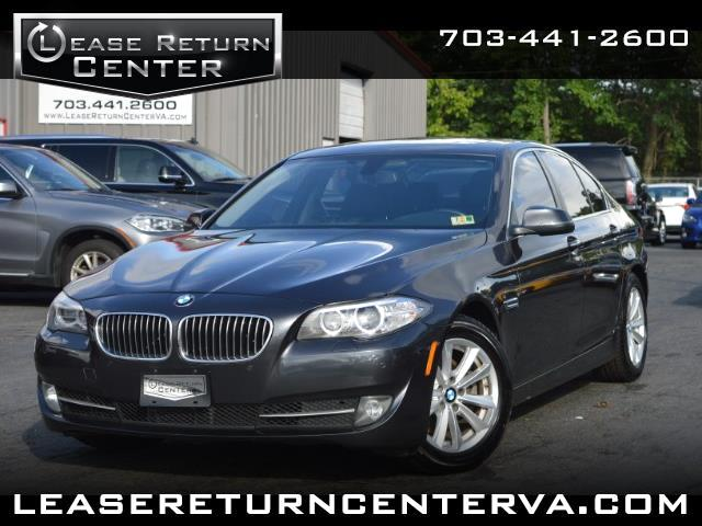 2015 BMW 5 Series Premium Package With Navigation System