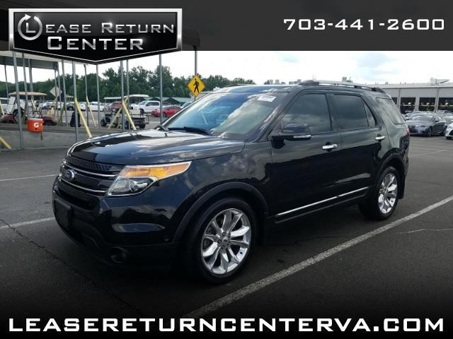 2015 Ford Explorer Limited with Panoramic Sunroof and Navigation