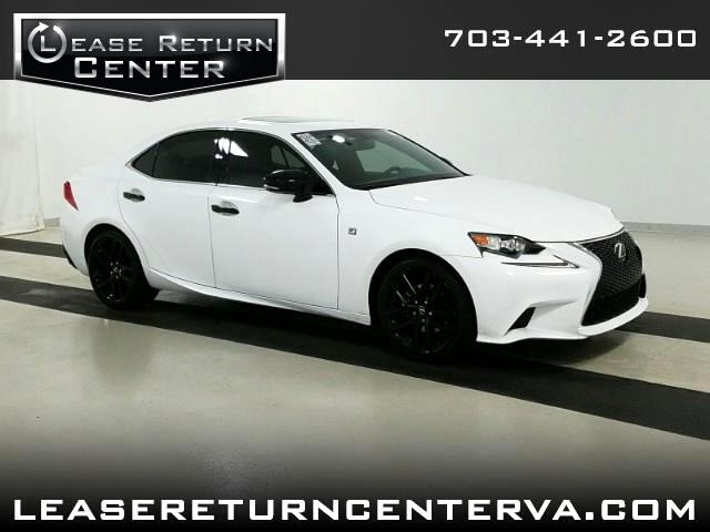 2015 Lexus IS 250 IS250 F Sport Crafted Line