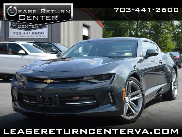 2017 Chevrolet Camaro 2LT With RS Package