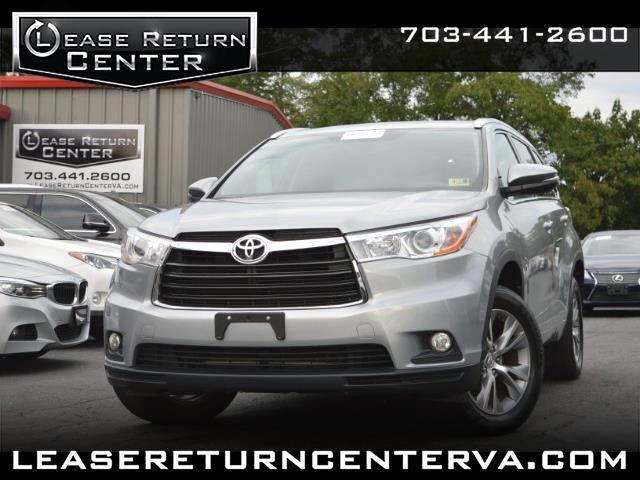 2015 Toyota Highlander XLE Leather With Navigation System