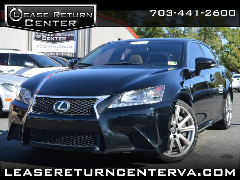 2015 Lexus GS 350 F-Sport With Navigation System