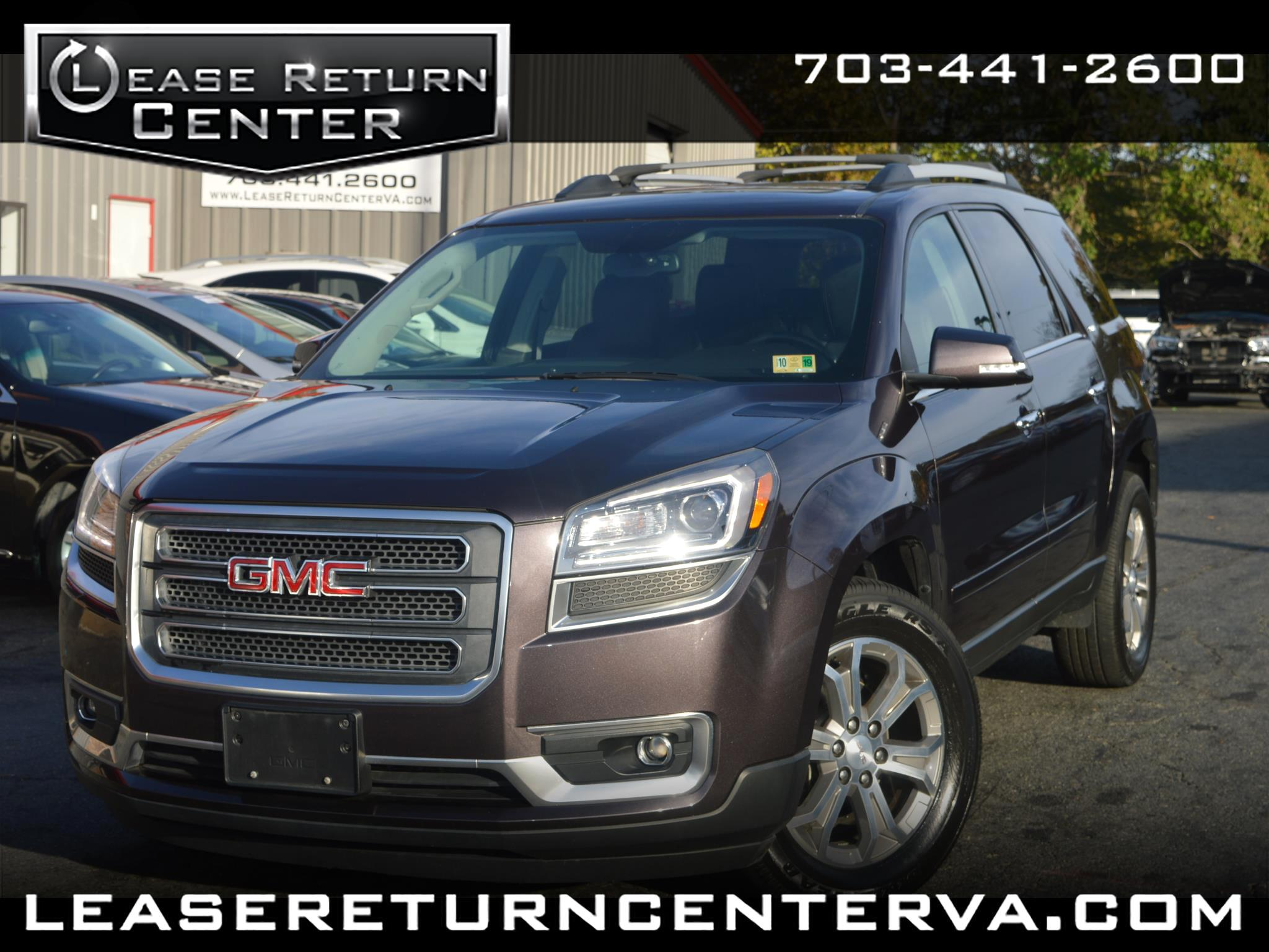 2015 GMC Acadia SLT Leather with Navigation System