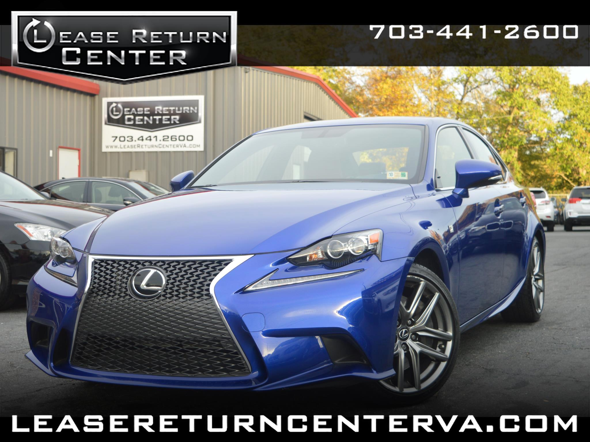 2016 Lexus IS 350 Fsport