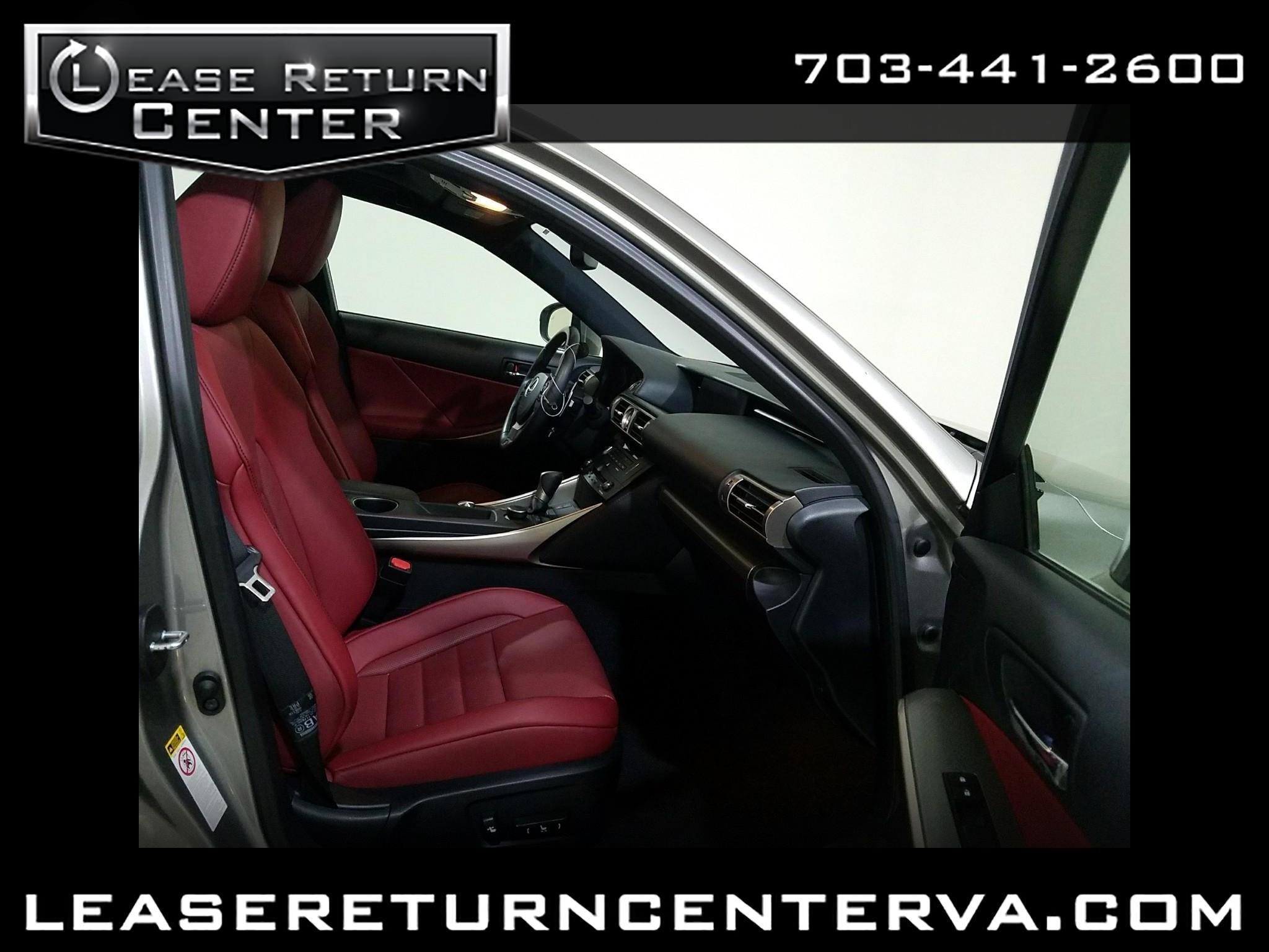 2016 Lexus IS 300 Fsport AWD