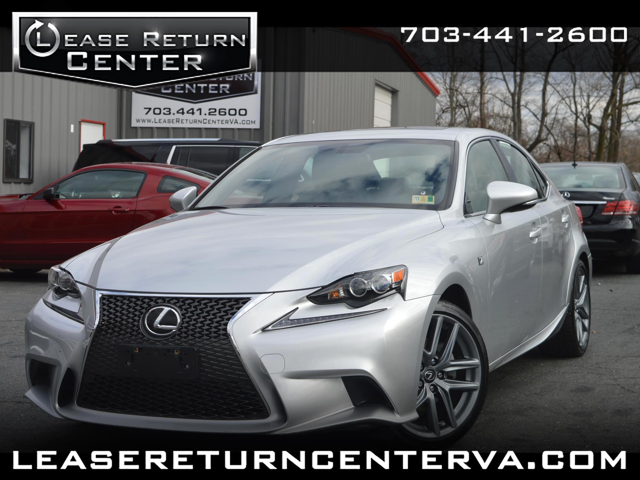 2015 Lexus IS 250 Fsport AWD