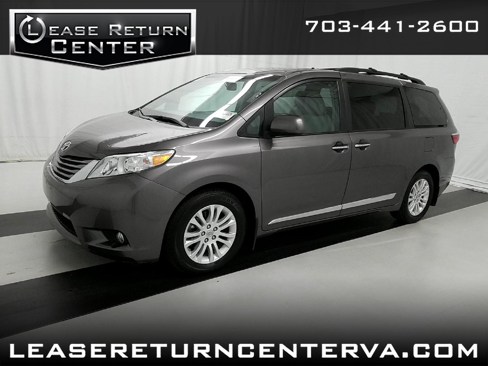 2016 Toyota Sienna XLE with Navigation