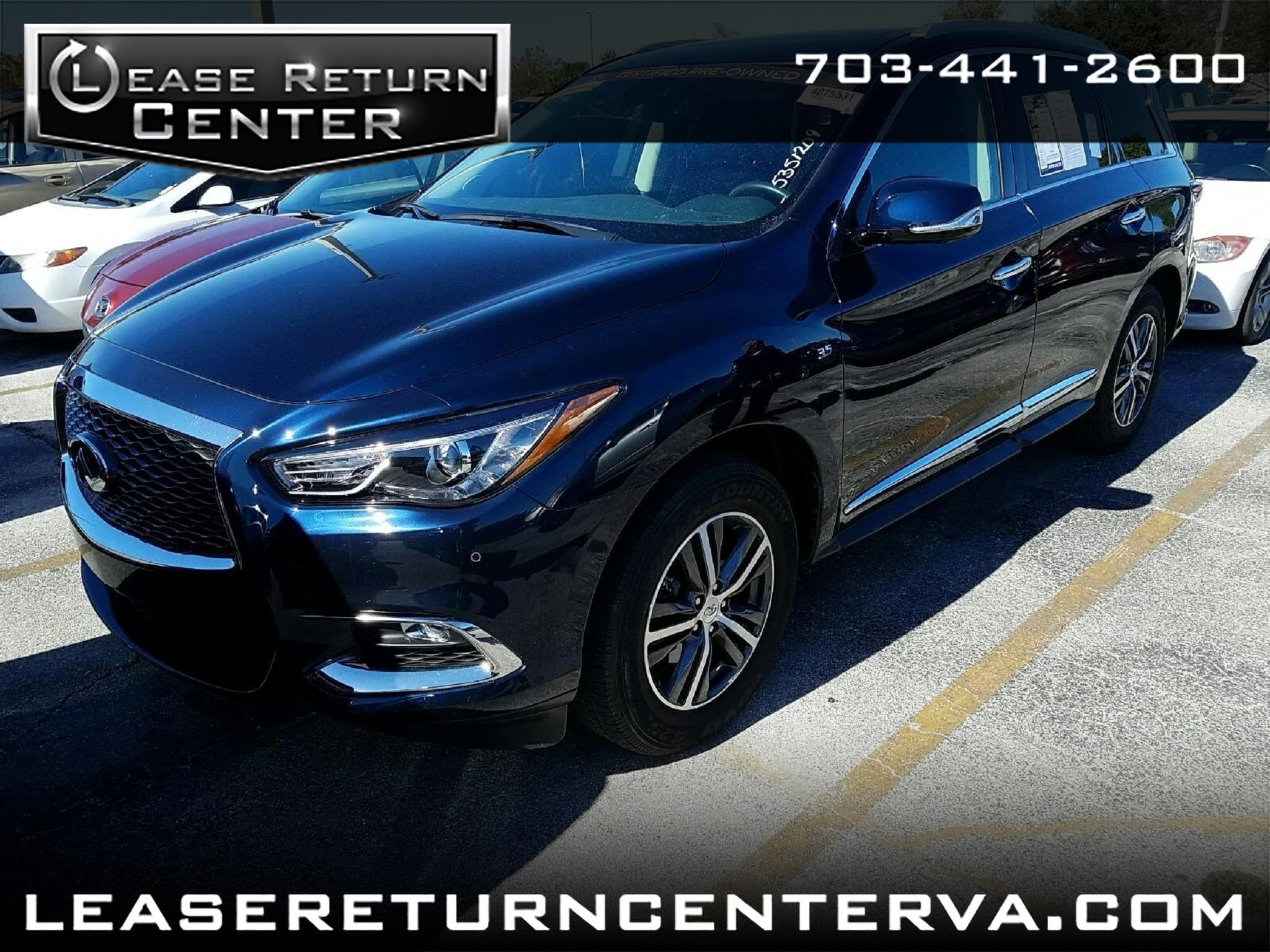 2016 Infiniti QX60 Premium Plus Package with Navigation