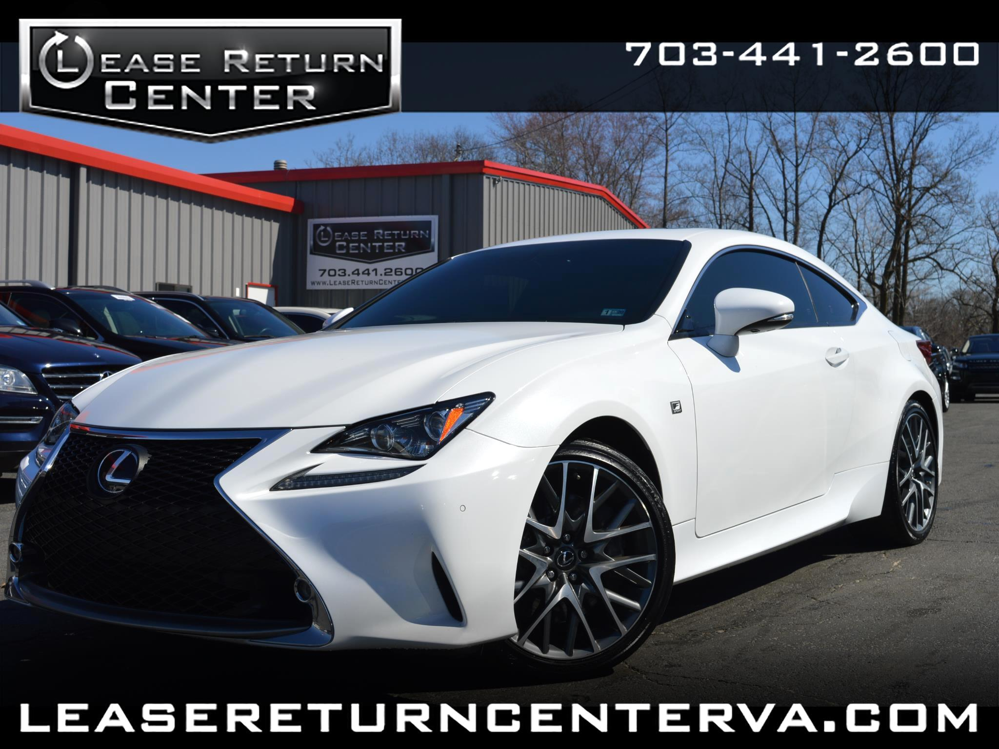 2015 Lexus RC 350 F Sport With Navigation System