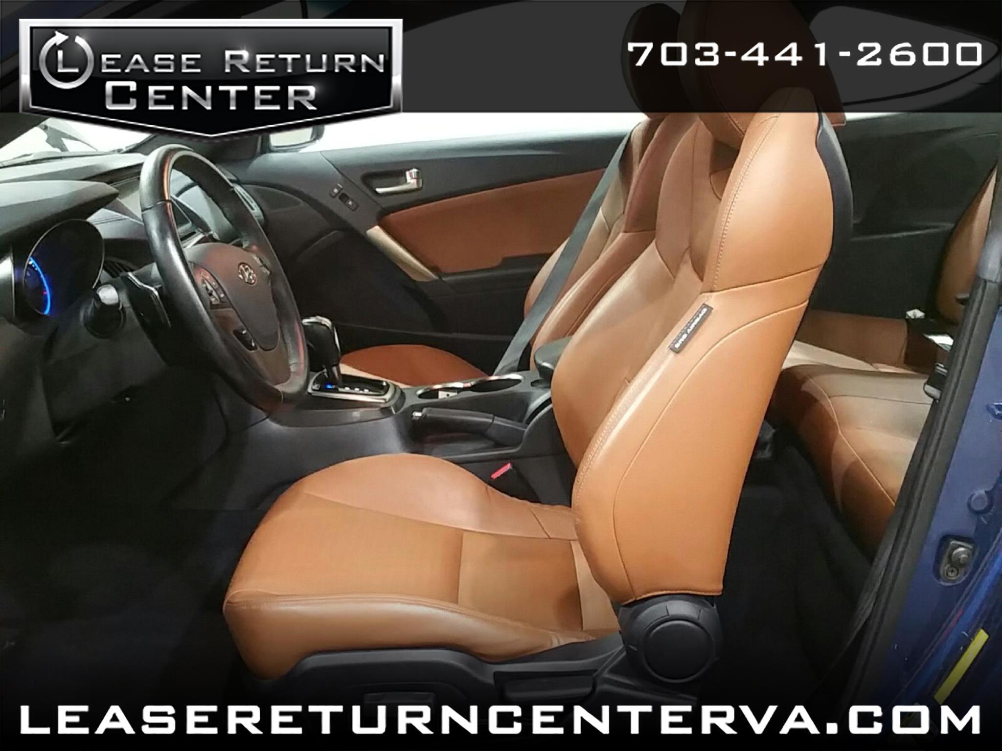 2015 Hyundai Genesis Coupe 2dr 3.8L Auto Ultimate w/Tan Seats