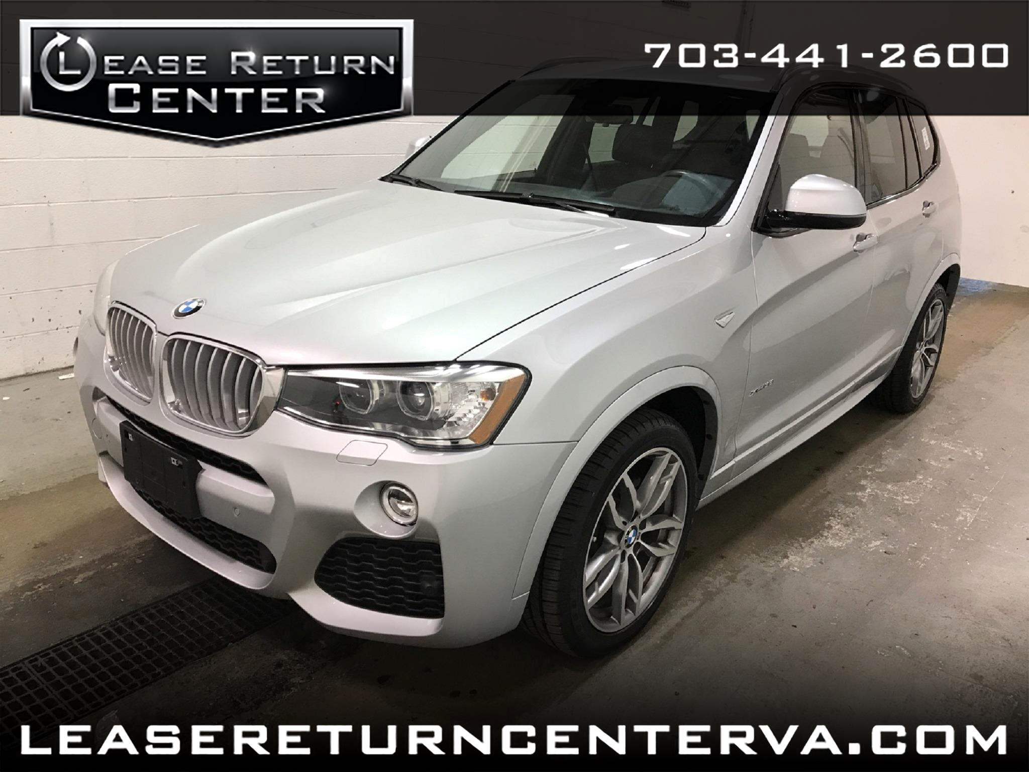 2016 BMW X3 AWD xDrive35i Msport Package