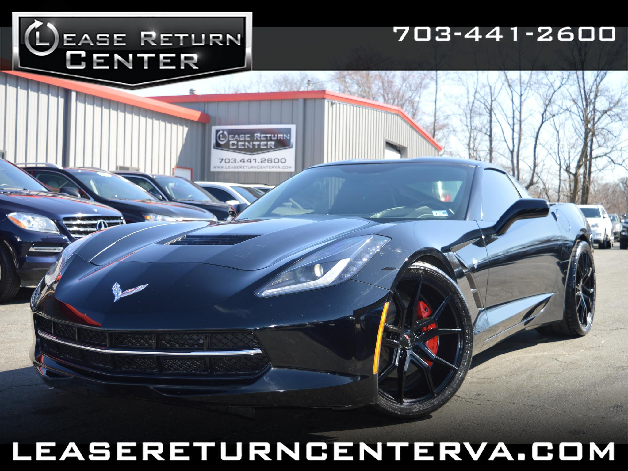 2015 Chevrolet Corvette 2dr Stingray Cpe w/2LT
