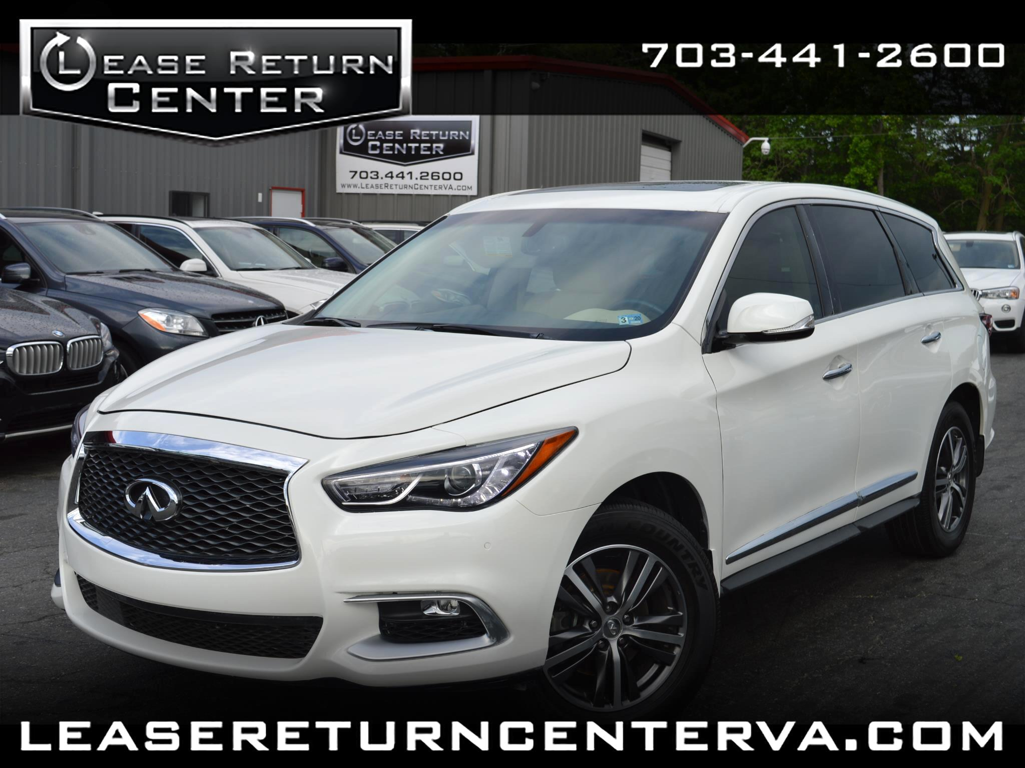2016 Infiniti QX60 Premium Package With DVD Entertainment