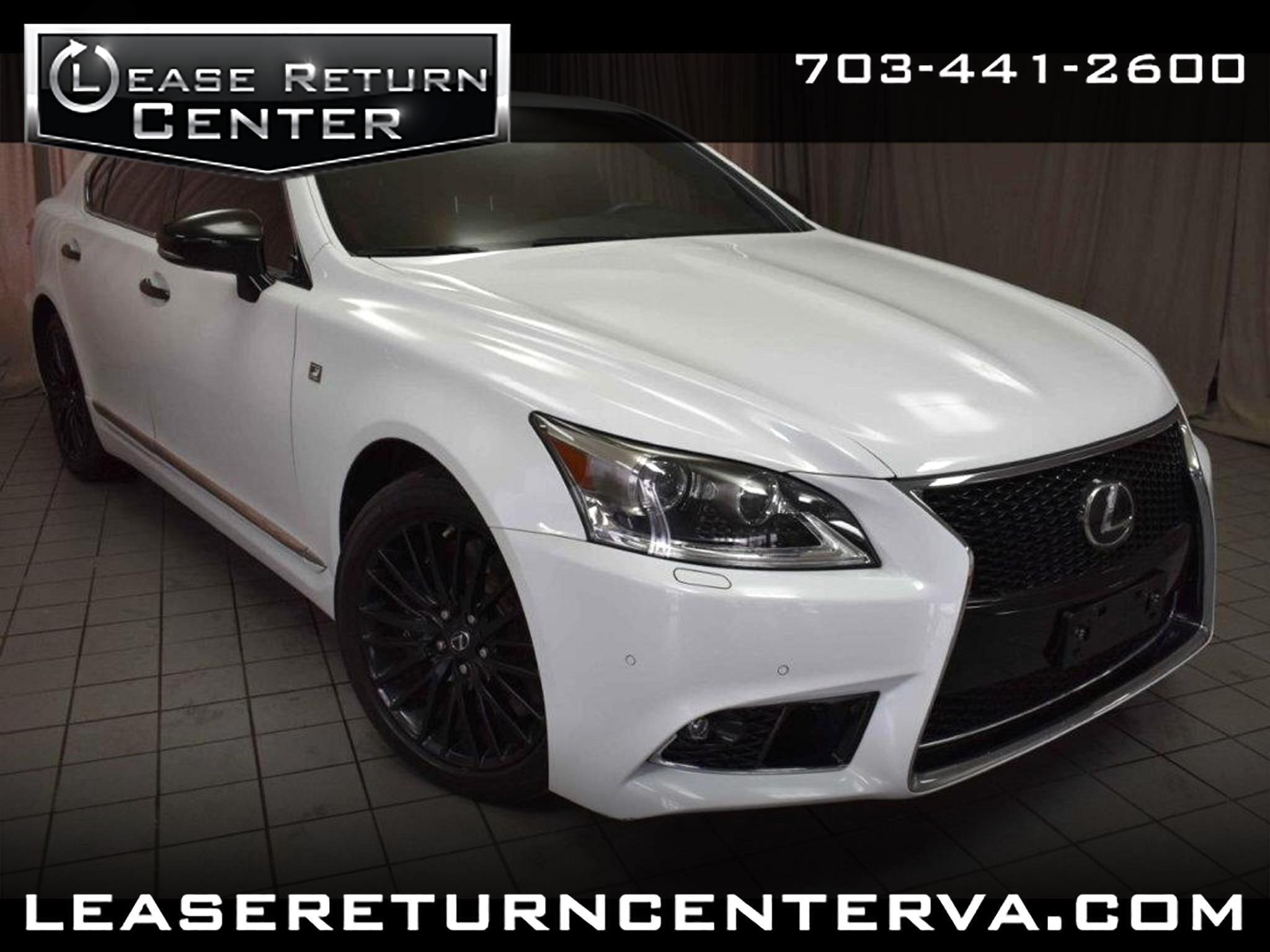 2015 Lexus LS 460 4dr Sdn Crafted Line RWD
